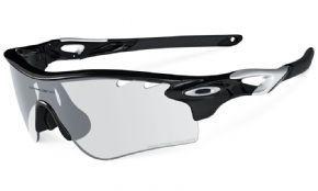 oakley tour de france radarlock  clear to black iridium transition lenses. oakley radarlock xl sunglasses polished
