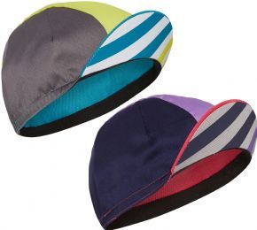 Image of Madison Sportive Poly Cotton Block Stripe Cap 2018 One Size - Block Stripe Pink Glo/Deep Lavender