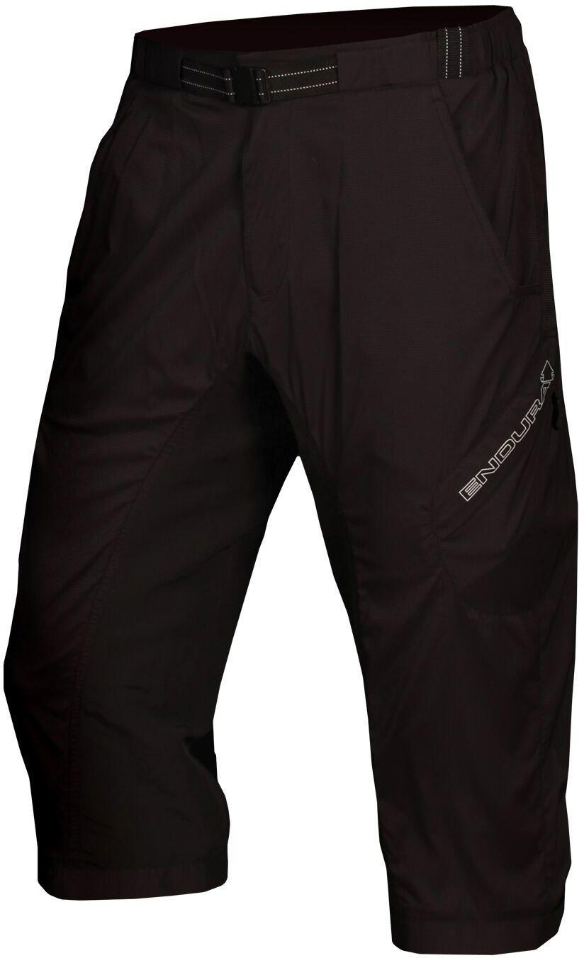 endura hummvee lite 3 4er baggy shorts black shorts baggy loose fit 3 4s cyclestore. Black Bedroom Furniture Sets. Home Design Ideas