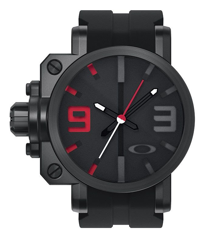 b4fb1e2c9b8 Oakley Gearbox Stealth Watch « Heritage Malta