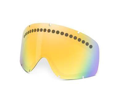 oakley o frame snow goggles  Oakley O Frame Snow Goggle Spare Lenses Fire Iridium 02-251 ...