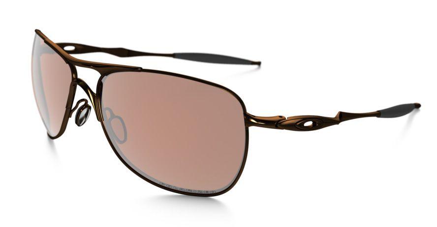 df73ae52080 Oakley Crosshair Sunglasses Brown Chrome bronze Polarized Oo4060-04 ...