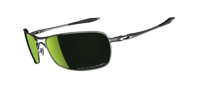 d1665b89cc Oakley Crosshair 2.0 Sunglasses Lead  Emerald Iridium Polarized Oo4044-09  ...