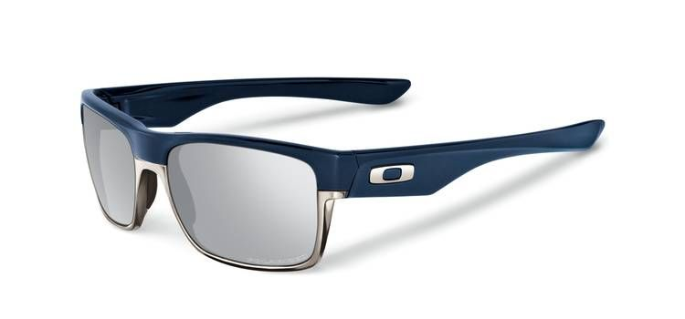 oakley twoface sunglasses matte navy chrome iridium polarised rh cyclestore co uk