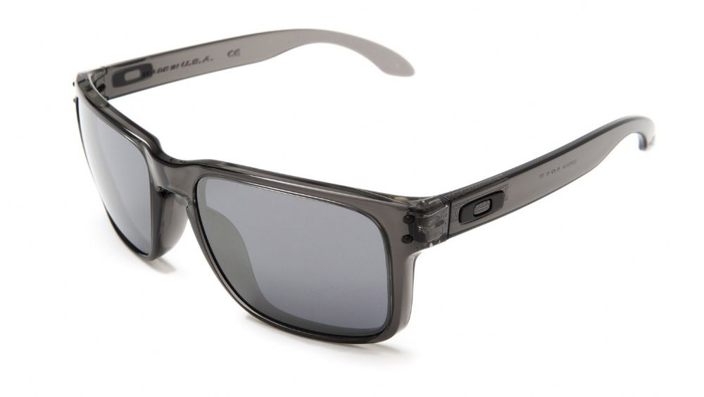 8a1de92bd2 Oakley Holbrook Sunglasses Black Ink  Chrome Iridium Oo9102-68 ...