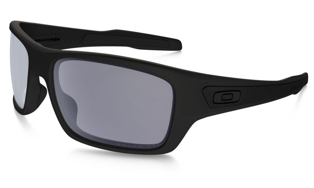 fac383905a ... hot oakley turbine sunglasses matte black grey polarized oo9263 07  369ac 15486