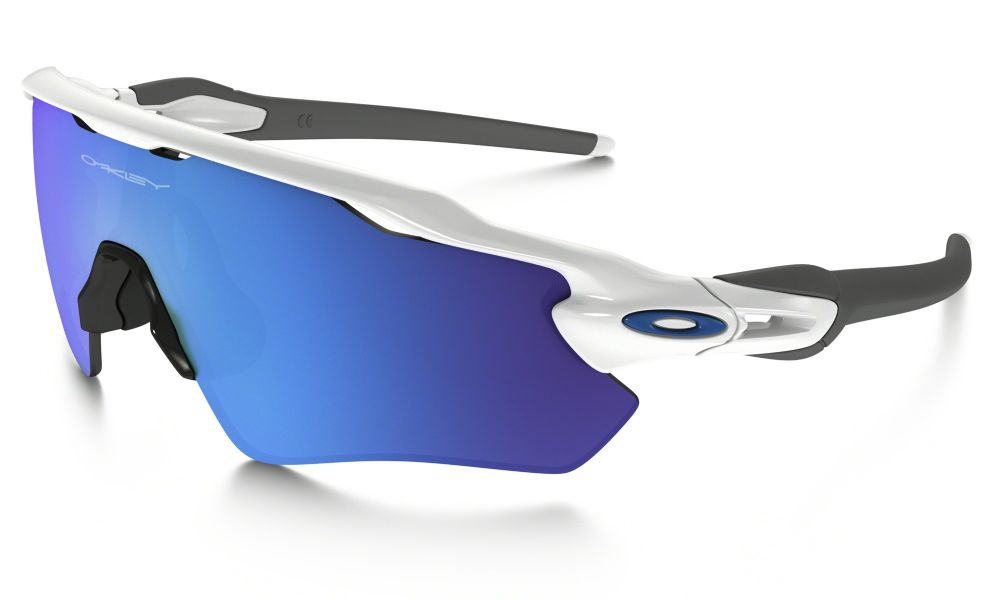 a8564bb9308 Oakley Radar Ev Path Sunglasses Polished White  Sapphire Iridium Oo9208-17  ...