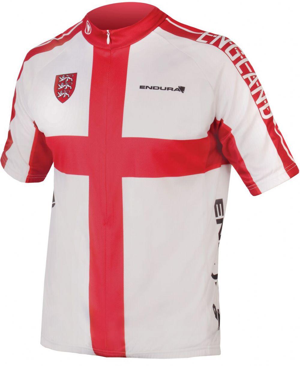 Endura Coolmax Printed England Jersey 2 - £23.99  0b80e8e80