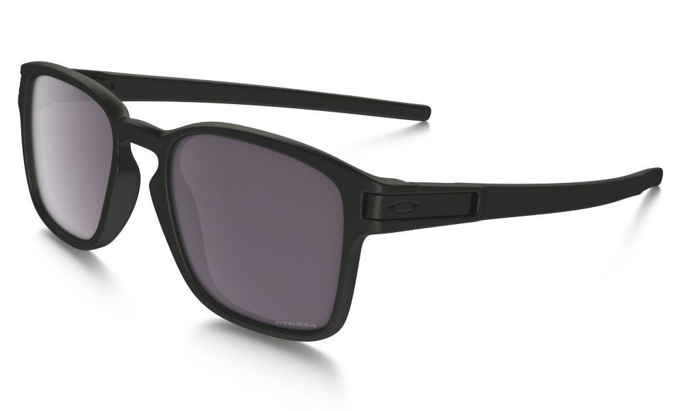 17a030a53c Oakley Latch Square Prizm Daily Polarized Sunglasses Matt Black  Prizm  Daily Polarised Oo9353-02 ...