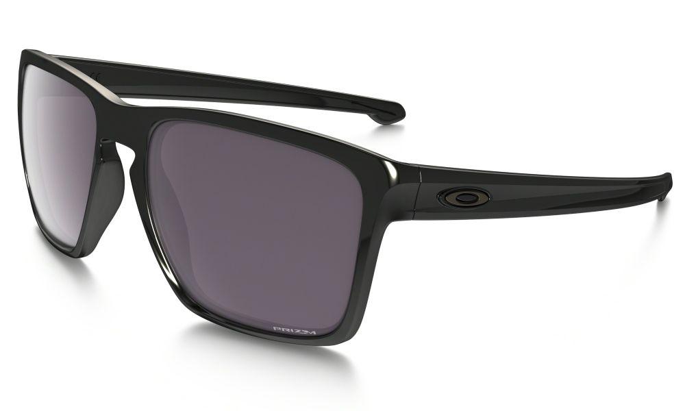 23767c554d Oakley Sliver Xl Prizm Daily Polarized Sunglasses Polished Black  Prizm  Daily Polarised Oo9341-06 ...