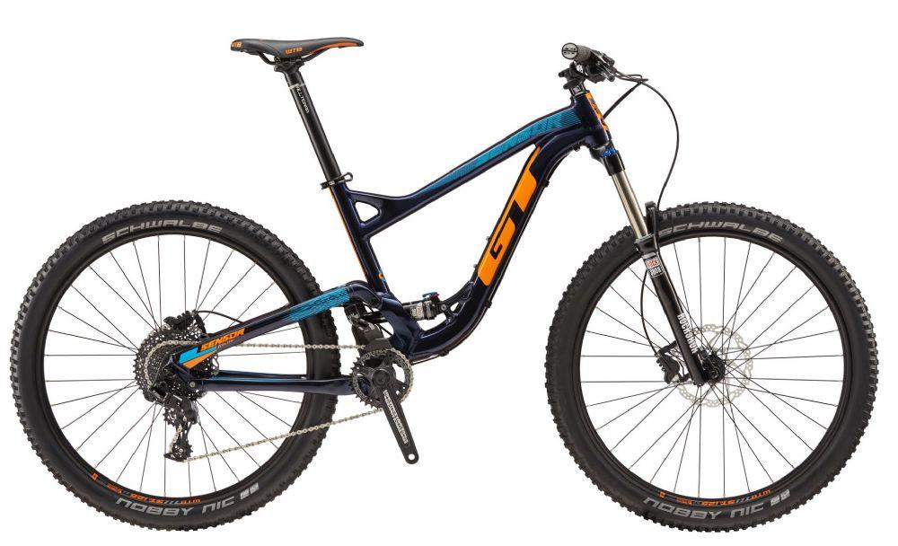 gt sensor al elite mountain bike 2017