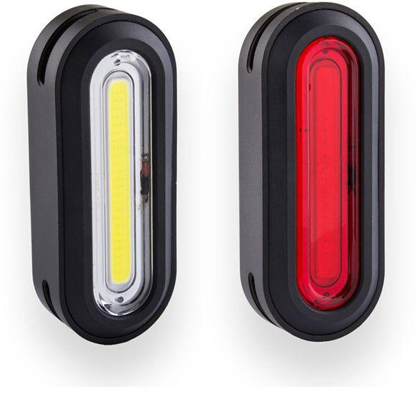 Kryptonite Avenue F-100 /& R-50 Set Basic USB COB Set Lights